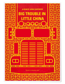 Premium-Poster Big Trouble In Little China