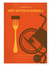 Premium-Poster Dirty Rotten Scoundrels