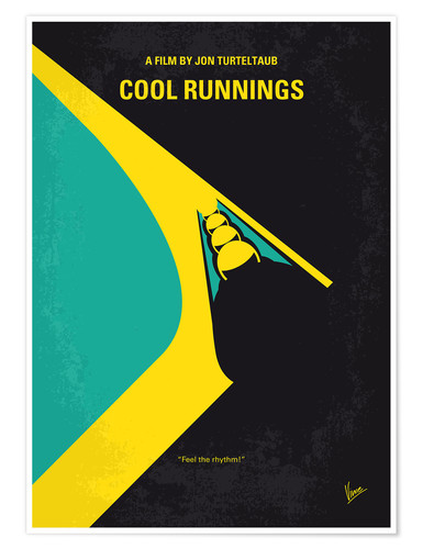 chungkong No538 My COOL RUNNINGS minimal movie poster Poster online ...