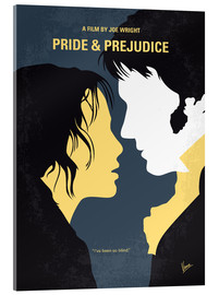 Acrylglas  No584 My Pride and Prejudice minimal movie poster - chungkong