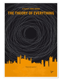 Premium-Poster No568 My The theory of everything minimal movie poster