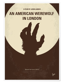 Poster  No593 My American werewolf in London minimal movie poster - chungkong