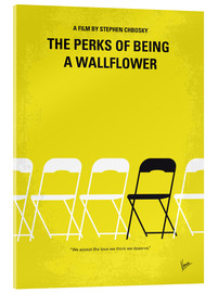Acrylglas  No575 My Perks of Being a Wallflower minimal movie poster - chungkong