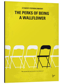 Alu-Dibond  No575 My Perks of Being a Wallflower minimal movie poster - chungkong