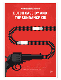 Premium-Poster Butch Cassidy And The Sundance Kid