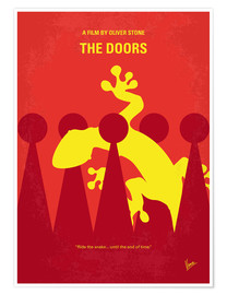 Poster No573 My THE DOORS minimal movie poster