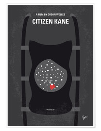 Poster No605 My Citizen Kane minimal movie poster