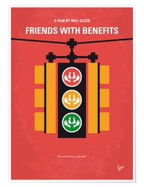 Premium-Poster  Friends With Benefits - chungkong