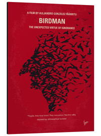 Alu-Dibond  No604 My Birdman minimal movie poster - chungkong
