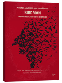 Leinwandbild  No604 My Birdman minimal movie poster - chungkong