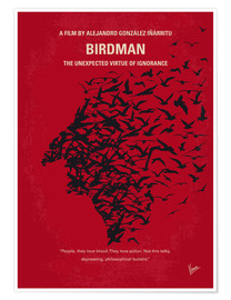 Poster  No604 My Birdman minimal movie poster - chungkong