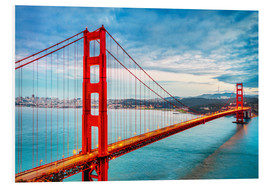 Forex  Das goldene Tor - Golden Gate Bridge