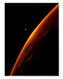 Premium-Poster The red planet