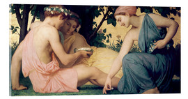 Acrylglas  Le Printemps - William Adolphe Bouguereau