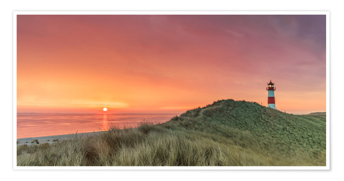 Premium-Poster Golden Morning - Sylt