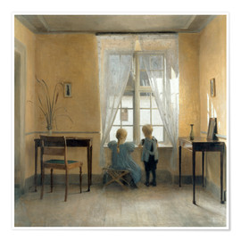 Premium-Poster  Am Fenster - Peter Vilhelm Ilsted
