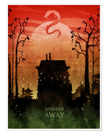 Premium-Poster  Spirited Away - Albert Cagnef
