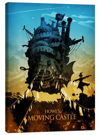 Leinwandbild  Howl's Moving Castle - Albert Cagnef