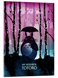 Acrylglasbild  My Neighbor Totoro - Albert Cagnef