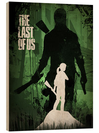 Holzbild  The Last Of Us - Albert Cagnef