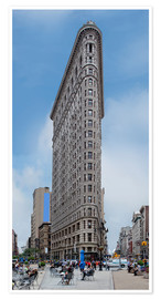 Premium-Poster New York City - Flatiron Building