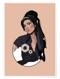 Premium-Poster Amy Winehouse