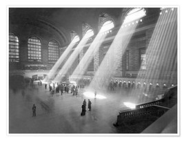 Premium-Poster  Grand Central Railroad Station