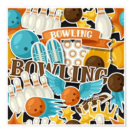 Poster  Bowling