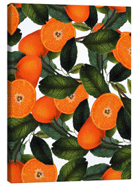 Leinwandbild  Orange Pattern - Uma 83 Oranges
