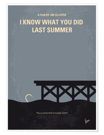 Premium-Poster I Know What You Did Last Summer