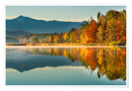 Premium-Poster Herbst am Ostersee