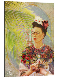 Alubild  Frida mit Rehkitz - Moon Berry Prints
