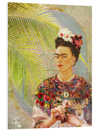 Forex  Frida Kahlo mit Rehkitz - Moon Berry Prints