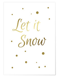 Poster Let It Snow - Lass es schneien