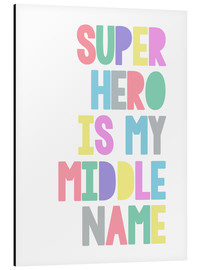 Alubild  Superhero Is My Middle Name - Superheld ist mein zweiter Vorname - Finlay and Noa
