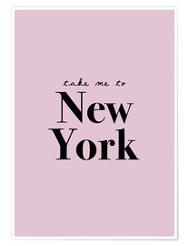 Premium-Poster  Take Me To New York - Nimm mich mit nach New York - Finlay and Noa