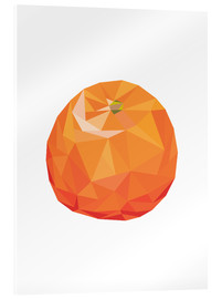 Acrylglas  Polygon Orange - Finlay and Noa