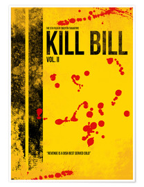 Premium-Poster Kill Bill 2 - Tarantino Minimal Film Movie Alternative