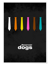 Premium-Poster  Reservoir Dogs - Minimal Film Movie Tarantino Alternative - HDMI2K