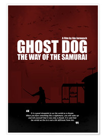 Premium-Poster Ghost Dog - Minimal Movie Film Kult Alternative