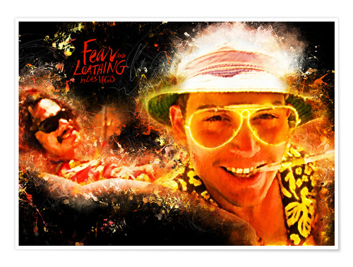 Premium-Poster Fear and Loathing in Las Vegas - Movie Film Alternative