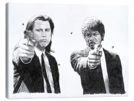 Leinwandbild  Pulp Fiction - Cultscenes
