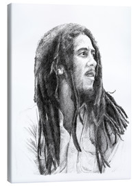 Leinwandbild  BOB MARLEY alternative fan art - Cultscenes