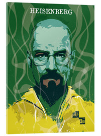 Acrylglasbild  alternative heisenberg breaking bad design art - 2ToastDesign