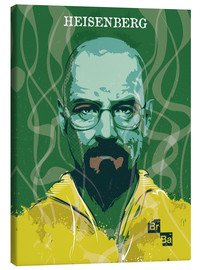 Leinwandbild  Heisenberg, Breaking Bad - 2ToastDesign