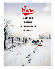 Premium-Poster alternative fargo retro film art