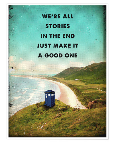 Poster alternative dr who tardis movie poster