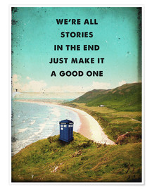 Premium-Poster  Doctor Who (Englisch) - 2ToastDesign