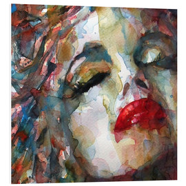 Hartschaumbild  Last Chapter, Marilyn Monroe - Paul Lovering