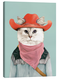 Leinwandbild  Rodeo Cat - Animal Crew